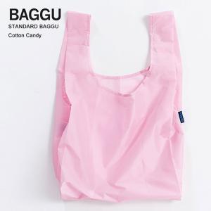メール便 BAGGU バッグ STANDARD スタンダード COTTON CANDY コットンキャンディ エコバッグ ナイロンバッグ ショッピングバッグ トートバッグ|delicious-y