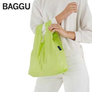 メール便 BABY BAGGU ベビー バッグ【Lime】ライム ネオン グリーン エコバッグ ナイロンバッグ ショッピングバッグ トートバッグ ギフト プレゼント|delicious-y