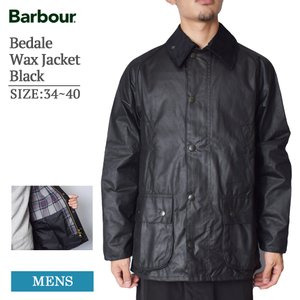 MADE IN ENGLAND BARBOUR バブアー MWX0018BK91 Bedale Wa...