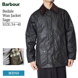 MADE IN ENGLAND BARBOUR バブアー MWX0018SG91 Bedale Wax Jacket Sage ビデイル ワックス ジャケット セージ メンズ オイルドジャケット delicious-y