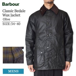 MADE IN ENGLAND BARBOUR バブアー MWX0010OL71 Classic Bedale Wax Jacket Olive クラシック ビデイル ジャケット オリーブ メンズ オイルドジャケット delicious-y