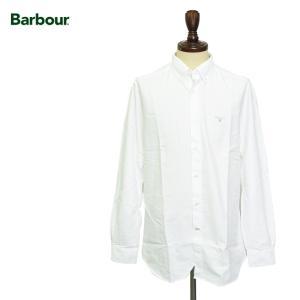 BARBOUR バブアー Oxford White オックスフォードシャツ ブラウス テイラーフィット ホワイト 白 delicious-y