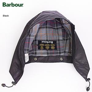 BARBOUR バブアー MHO0004BK91 Waxed Cotton Hood Black ワックスドコットンフード ブラック メンズ アウター 取付フード delicious-y