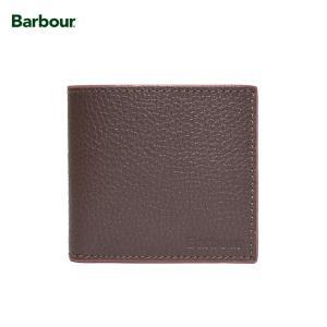 BARBOUR Leather Wallet バブアー MAC0180BR711 DARK BROWN サイフ 二つ折財布 ダークブラウンレザー 革 ウォレット delicious-y