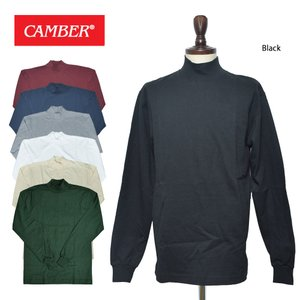 CAMBER キャンバー MAX WEIGHT MOCK TURTLE #306 マックスウェイト モックタートル メンズ Tシャツ タートル 長袖 MADE IN USA|delicious-y