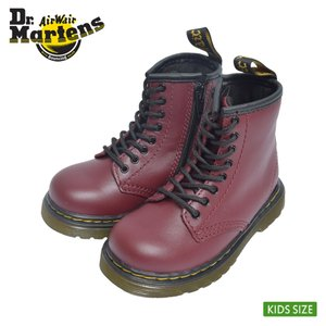 Dr.Martens ドクターマーチン R15373601 1460 TODDLER SOFTY T CHERRY RED キッズ ジュニア 子供用 シューズ チェリー レッド 黒 レザーブーツ|delicious-y
