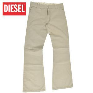 DIESEL ディーゼル DD-NEW-PHYLLI KHAKI PANT 00ACEB-00ADH-72N KHA カーキ カラーパンツ メンズ ブーツカット パンツ|delicious-y