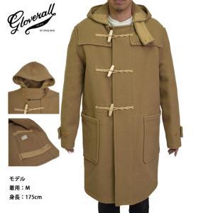 GLOVERALL MENS グローバーオール メンズ MC575052 ORIGINAL MONTY CAMEL モンティ キャメル|delicious-y