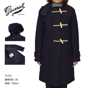 GLOVERALL WOMENS グローバーオール レディース LC438552 ORIGINAL MONTY NAVY オリジナル モンティ ネイビー コート|delicious-y