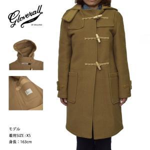 GLOVERALL WOMENS グローバーオール レディース LC438552 ORIGINAL MONTY CAMEL キャメル コート|delicious-y