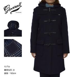 GLOVERALL WOMENS グローバーオール レディース LC3120FC ORIGINAL DUFFLE NAVY ネイビー コート|delicious-y