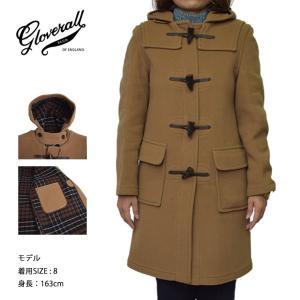 GLOVERALL WOMENS グローバーオール レディス LC3120FC ORIGINAL DUFFLE CAMEL キャメル コート|delicious-y