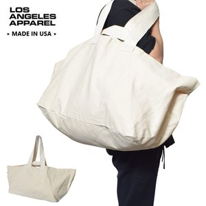 LOS ANGELES APPAREL ロサンゼルス アパレル LA APPAREL BD12 Oversized Bag トートバッグ ショルダー バッグ MADE IN USA delicious-y
