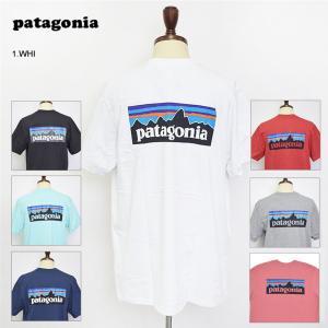 メール便 PATAGONIA パタゴニア 39178 P6 Logo Pocket Responsibili Tee メンズ P6 ロゴ ポケット 半袖 Tシャツ