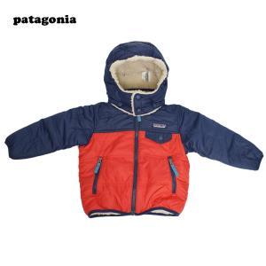 PATAGONIA FW18 パタゴニア 61160 Baby Reversible Tribbles Hoody ベビー リバーシブル トリブルズ フーディ  キッズ アウター フリースジャケット|delicious-y
