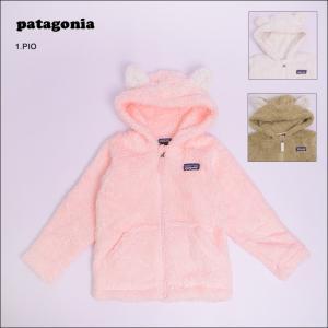 PATAGONIA パタゴニア 61155 Baby Furry Friends Hoody ベビー ファーリー フレンズ フーディ キッズ アウター フリースジャケット|delicious-y