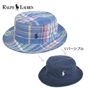 Polo Ralph Lauren ポロ ラルフ ローレン【321-737581-001】【322-737581-001】【323-737581-001】チノツイルバケットハット NAVY 2T-4T/4-7/8-20 キッズ 帽子|delicious-y