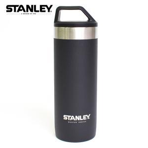 STANLEY スタンレー MASTER Vacuum Mug 18oz Foundry Black マスターバキュームマグ 532ml ブラック 水筒 ステンレスボトル 真空 保温 保冷 アウトドア キャンプ|delicious-y