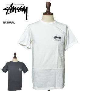 メール便 STUSSY ステューシー 1904402 VENUS PIG. DYED TEE BLACK NATURAL メンズ 半袖 Tシャツ|delicious-y