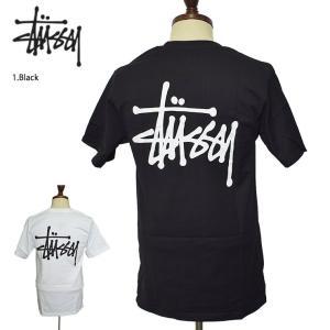 メール便 STUSSY HO18 ステューシー 1904298 Basic Stussy Tee ベーシック ステューシー Tシャツ メンズ Tシャツ 半袖