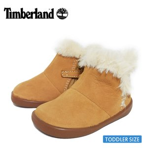 Timberland ティンバーランド【TB0A27FP763】TREE SPROUT WL BOOTIE White / Spruce Yellow トドラー キッズ シューズ 靴 ブーツ イエロー カーキ ホワイト|delicious-y