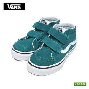 VANS KIDS バンズ キッズ VN0A346YVFE スケートミッド グリーン 子供 靴|delicious-y