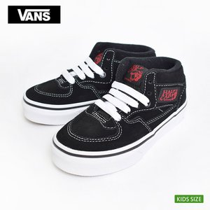 VANS KIDS バンズ キッズ VN0A3TL2JV6 HALF CAB Racing Red/True White ハーフ キャブ レーシングレッド トゥルーホワイト 子供 スニーカー|delicious-y