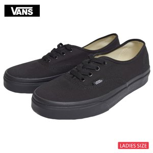 VANS LADIES バンズ ヴァンズ レディース VN000EE3BKA AUTHENTIC オーセンティック Black Black ブラック レディース スニーカー 靴|delicious-y