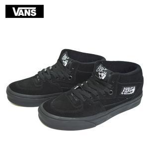 VANS バンズ ヴァンズ VN000DZ3BKA HALF CAB BLACK BLACK ハーフキャブ ブラック 黒 スニーカー 定番 靴|delicious-y