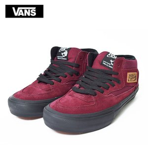 VANS バンズ メンズ VN0A38CPVFL HALF CAB PRO SPLIT FOXING PORT ROYALE BLACK ハーフキャブ プロ SUEDE ポートロイヤル 靴|delicious-y