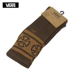 VANS バンズ VN0A3I14XHD VANS INDEPENDENT 1PK DEMITASSE コラボ インディペンデント メンズ靴下 茶色|delicious-y