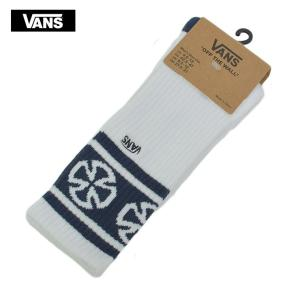 VANS バンズ VN0A3I14XHC VANS INDEPENDENT 1PK DRESS BLUES コラボ インディペンデント メンズ靴下 青|delicious-y