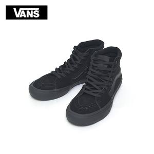 VANS MENS SP'18 バンズ メンズ SK8-HI PRO  VN000VHG1OJ   BLACKOUT Suede/Canvas/Leather スケートハイプロ メンズ スニーカー 靴 delicious-y
