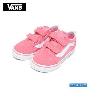VANS TODDLER バンズ VN0A344KVE0 オールド スクールV ピンク ユニコーン 幼児用スニーカー|delicious-y