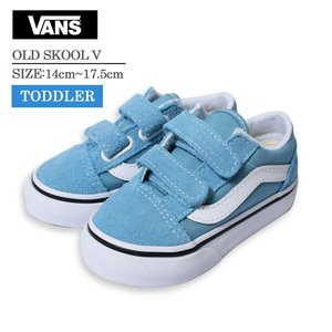 VANS TODDLER バンズ トドラー 幼児用スニーカー 靴 シューズ スニーカー くつ オールドスクールV ブルー ホワイト OLD SKOOL V VN0A38JN33L delicious-y
