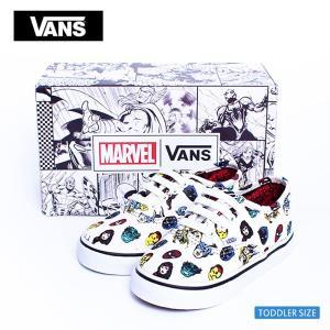 VANS TODDLER FA'18 バンズ トドラー VN0A38E7RNU AUTHENTIC  (Marvel) Avengers オーセンティック マーベル アベンジャーズ  幼児用スニーカー|delicious-y