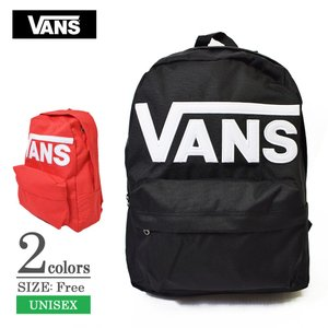 VANS APPAREL バンズ アパレル VN0A3I6RY28 VN0A3I6RIZQ OLD SKOOL III BACKPACK Black Red ロゴ メンズ レディース バックパック リュックサック|delicious-y