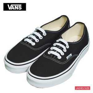 VANS WOMENS HO18 バンズ スニーカー レディース VN000EE3BLK オーセンティック ブラック キャンバス   靴|delicious-y