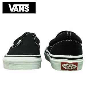 ワケあり-1689 VANS KIDS バンズ キッズ VN000ZBU6BT CLASSIC SLIP ON BLACK クラシックスリッポン ブラック 子供 靴 delicious-y