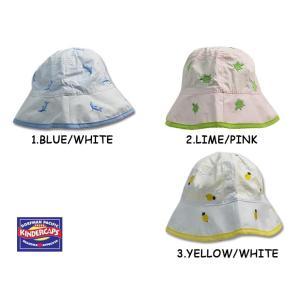 メール便 KINDERCAPSカインダーキャップC866 KIDS REVERSIBLE BUCKETキッズリバーシブルバケットDorfman Pacific/KINDERCAPS幼児用帽子/ハット|deliciousy2