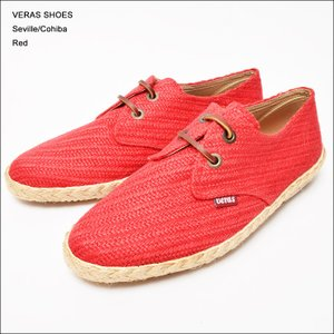 VERAS SHOES (ヴェラス シューズ) SEVILLE RED|deliciousy2