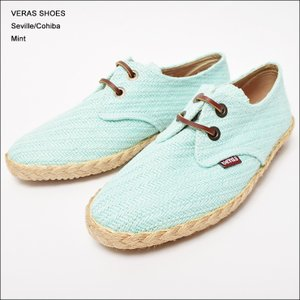 VERAS SHOES (ヴェラス シューズ) SEVILLE MINT|deliciousy2