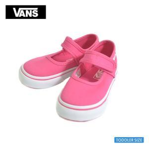 VANS バンズ トドラー VN0A3MTX80A MARY JANE スリッポンメリージェーン ホットピンク ホワイト 幼児用スニーカー|deliciousy2