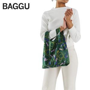メール便 BABY BAGGU ベビー バッグ 【Green Tassel】タッセル グリーン アクセサリ エコバッグ ナイロンバッグ ショッピングバッグ トートバッグ ギフト|deliciousy2