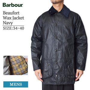MADE IN ENGLAND BARBOUR バブアー MWX0017NY91 Beaufort ...