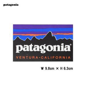 メール便 PATAGONIA パタゴニア【 91926 】ベンチュラ カリフォルニア ステッカー VENTURA CALIFORNIA STICKER フィッツロイ USA アメリカ シール|deliciousy2