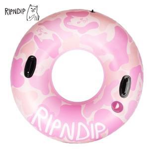 RIPN DIP リップンディップ RND2657 Camo Tube Float 浮き輪 ネコ 雑貨 プール 海 deliciousy2