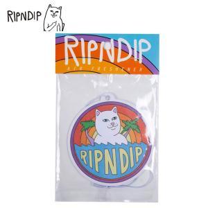 RIPNDIP リップンディップ RND4007 TIDAL AIR FRESHENER メンズ レディス エアーフレッシュナー 雑貨 吊り下げ用芳香剤 フレグランス 猫 ネコ ねこ CAT deliciousy2