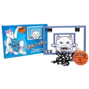 RIPNDIP リップンディップ RND4046 Hoop Dreams Indoor Basketball Hoop バスケットボールゴール 雑貨 ボール ゴール リング ミニバスケット 組立式 家庭用 deliciousy2