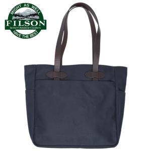あワケあり-1610 FILSON フィルソン 70260-NAVY TOTE BAG WITHOUT ZIPPER NAVY メンズ トートバッグ バッグ 鞄 カバン トート|deliciousy2